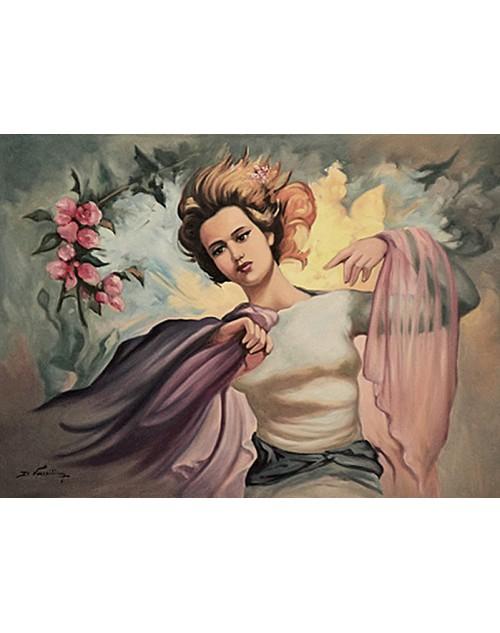 Πίνακας ζωγραφικής 50*70 εκ. αερικό 434