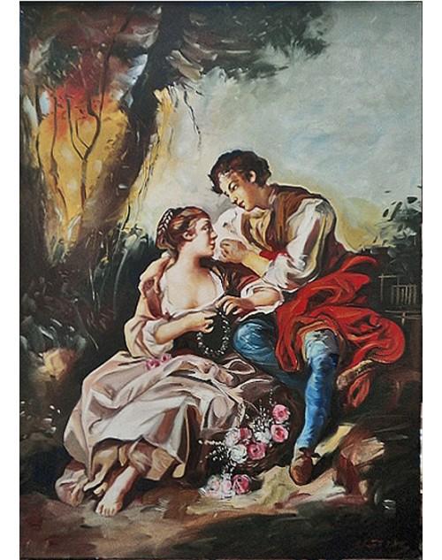 πίνακας ζωγραφικής 50*70 εκ. ρετρό 509