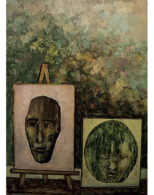 Πίνακας ζωγραφικής 50*70 εκ. πορτραίτα 504