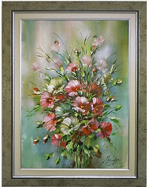 Πίνακας ζωγραφικής 50*70 εκ. , 71*91 εκ. λουλούδια 502