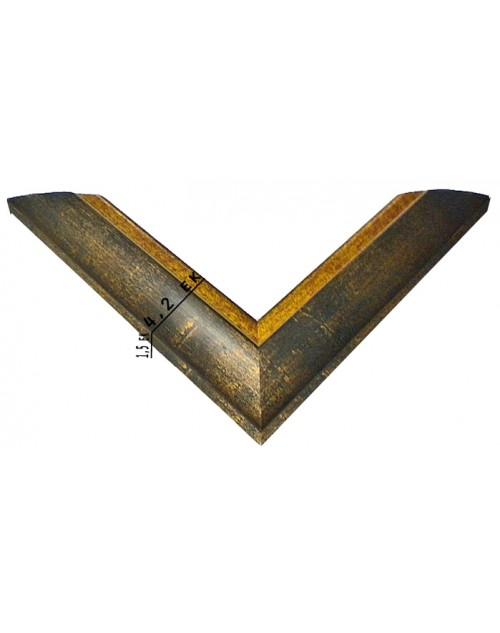 ΚΟΡΝΙΖΑ ΞΥΛΙΝΗ  (4,2 ΕΚ.) ΜΠΛΕ ΧΡΥΣΟ 1252